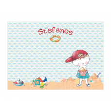 Boy Summertime Placemat