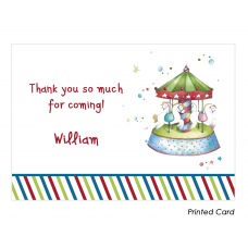Carousel Thank You Cards