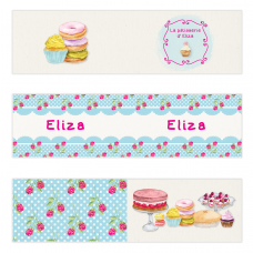 Cupcake Mini Topper Flags