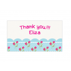 Cupcake Mini Thank You Cards