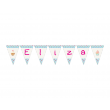 Cupcake Personalized Banner