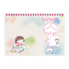 Art Studio for Girls Placemat