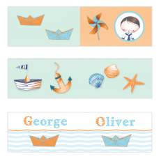 Little Sailor Mini Topper Flags