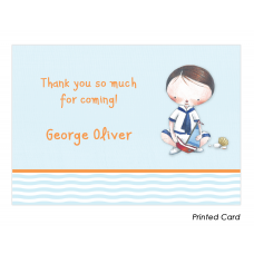 Little Sailor Thank You Cards