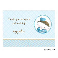 Little Prince Thank You Cards