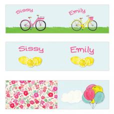Pink Lemonade Mini Topper Flags