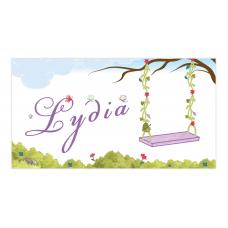 Purple Fairy Envelope Sticker