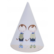 Golf Boy Twins DIY Party Hats