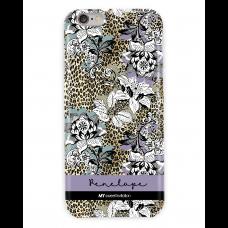 Leopard Floral Purple Case