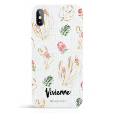 Urban Gold Cactus Flower Phone Case