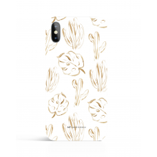 Urban Gold Palms Phone Case