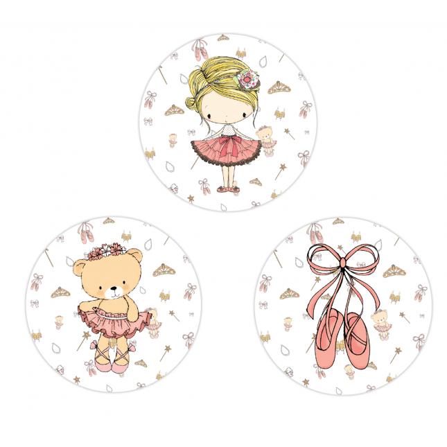 Amelia Circle Stickers