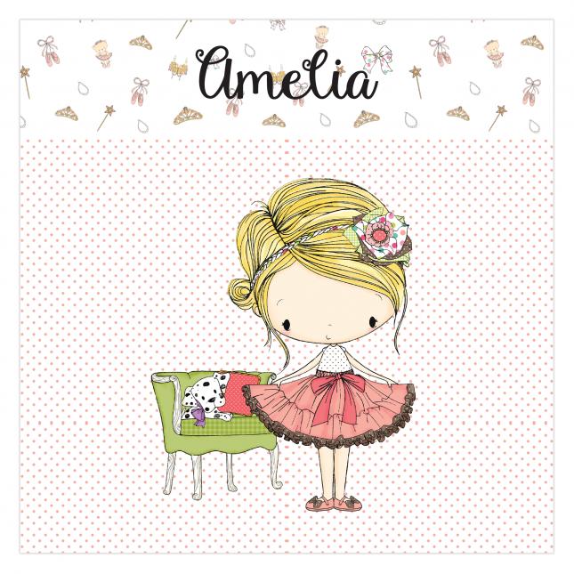 Amelia Canvas Frame