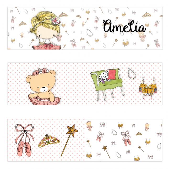Amelia Mini Topper Flags