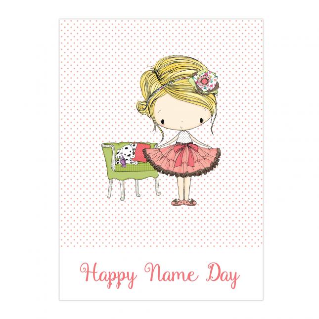 Amelia Name Day Folded Card