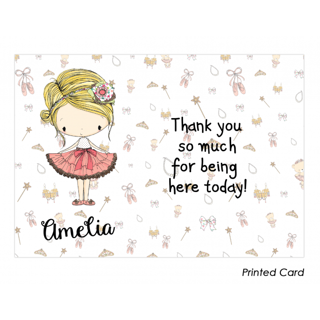 Amelia Thank You Cards