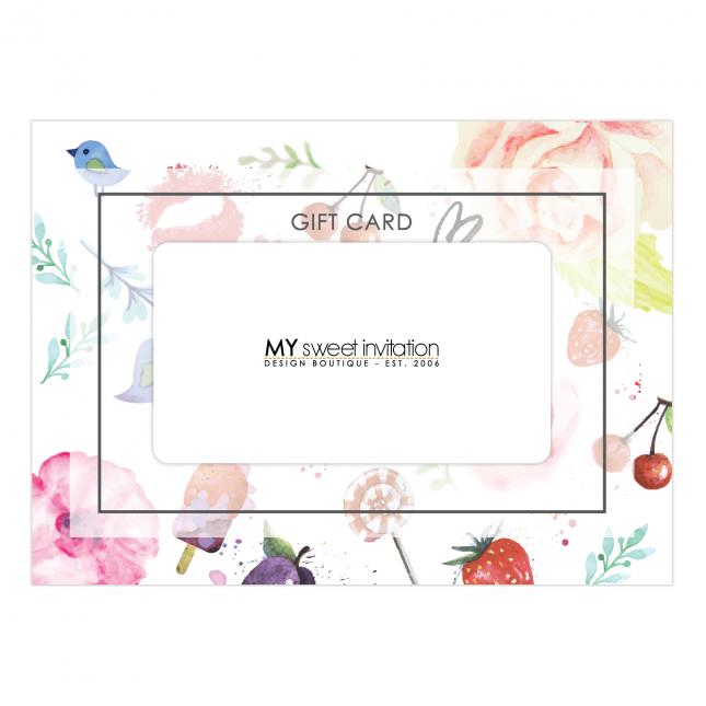 Blossom Gift Card