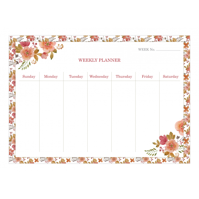 Blossom Weekly Planner