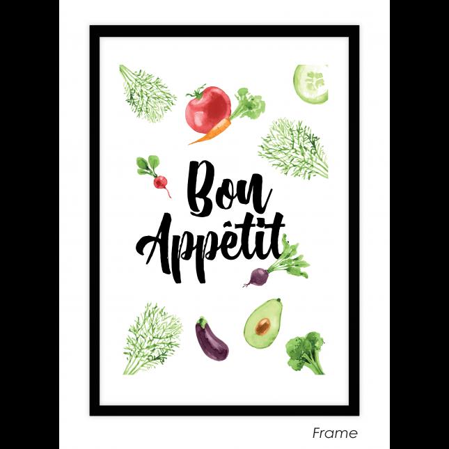 Bon Apetit Art Print