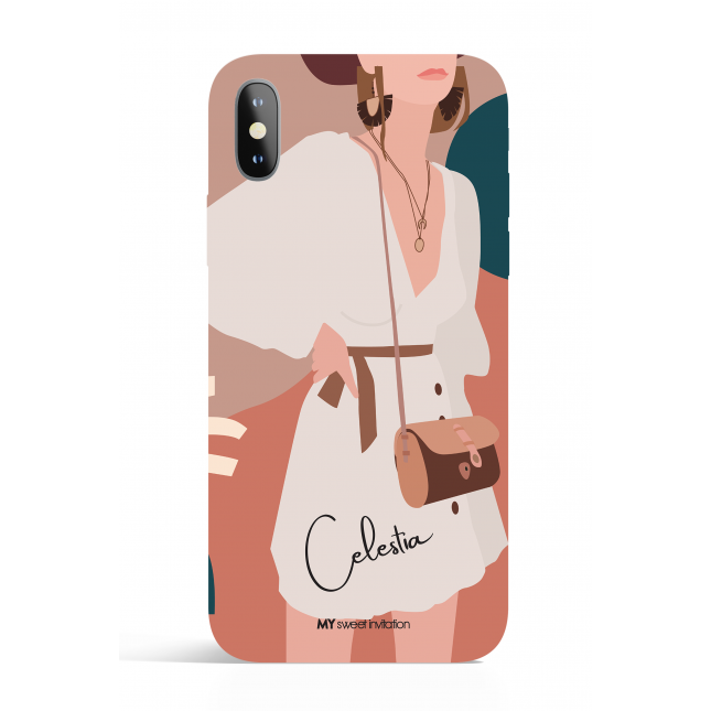 Celestia Modern Art Phone Case
