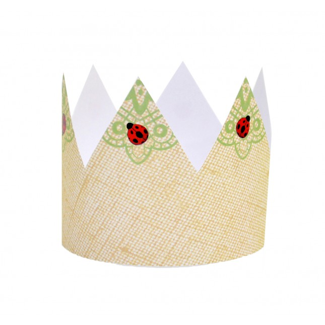 Green Apple DIY Crowns
