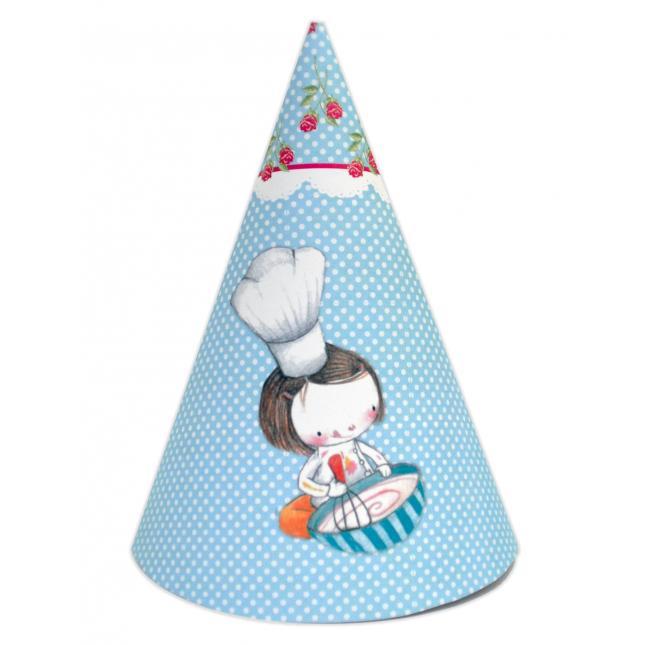 Cupcake DIY Party Hats