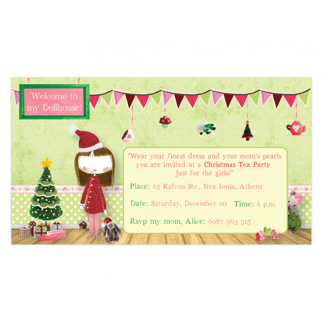 Dollhouse Invitation