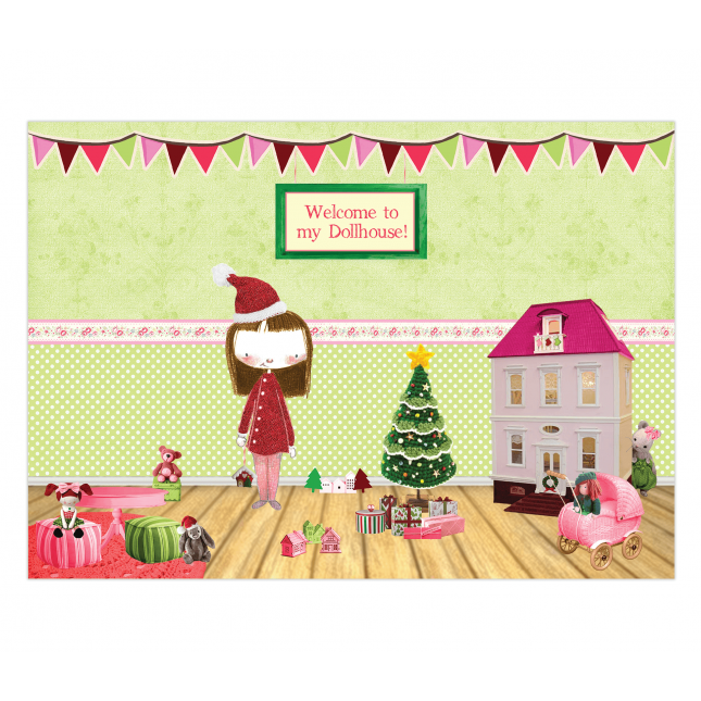 Dollhouse Placemats