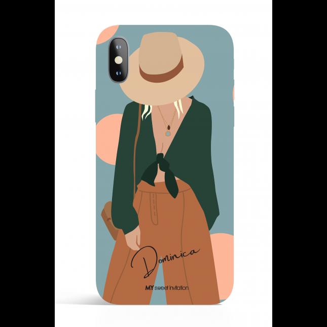 Dominica Modern Art Phone Case