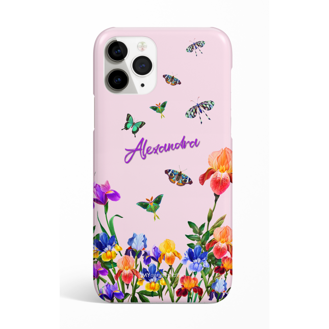 Eden Pink Butterfly Personalized  Phone Case