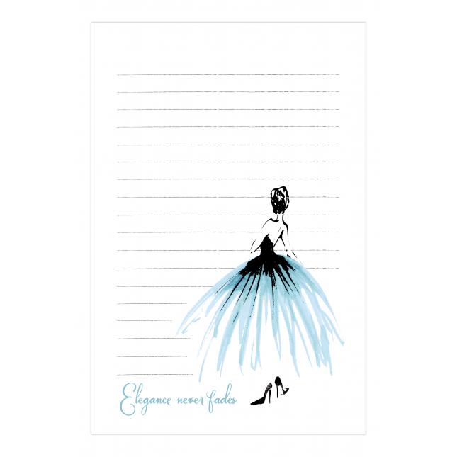 Elegance Notepad  | Virginia Romo