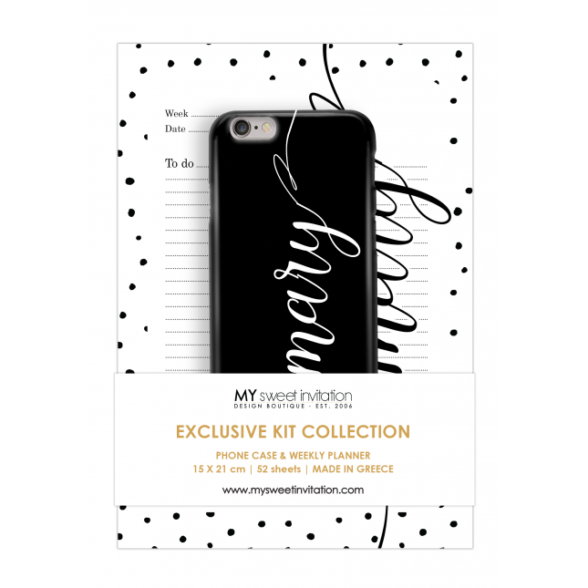 Express Yourself | Planner Black Personalized Kit