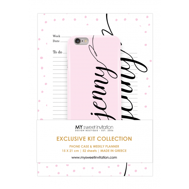 Express Yourself | Planner Pink Personalized Kit