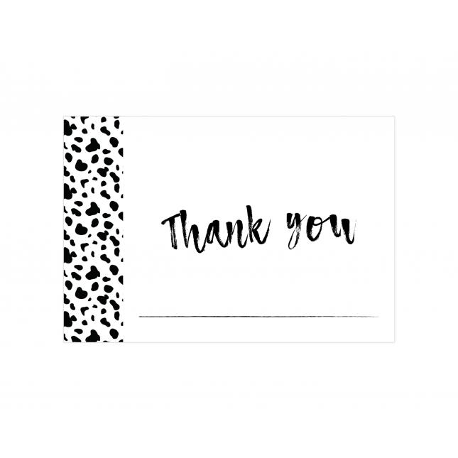 Dalmatian Thank you Cards