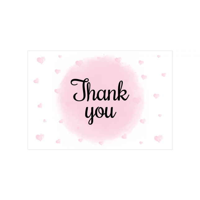 Hearts & Polkas Thank you Cards