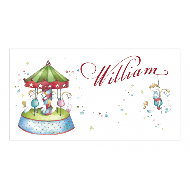 Carousel Envelope Sticker