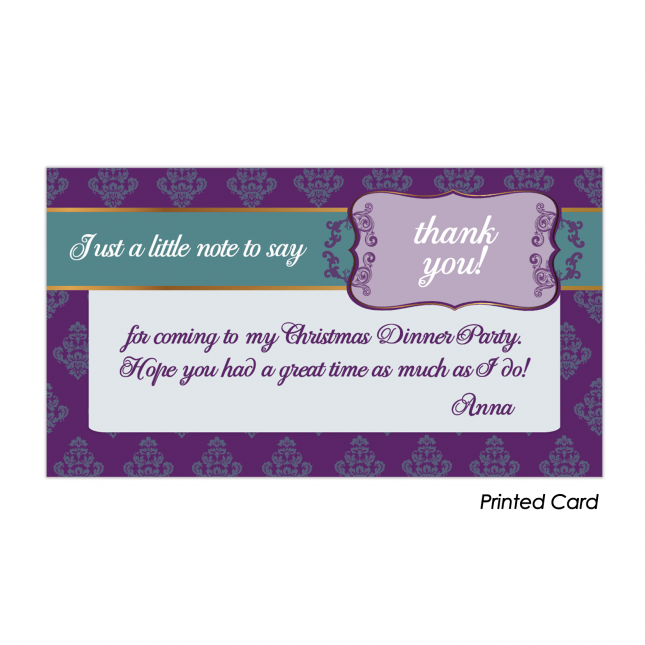 Atmosphere Thank You Cards