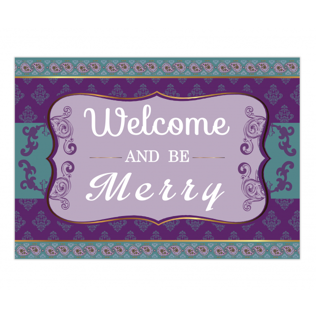 Atmosphere Welcome Sign