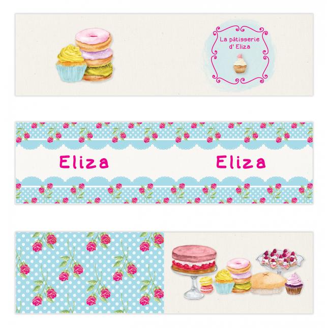 Cupcake Mini Topper Flags