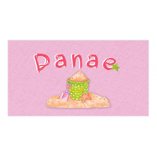Girl Summertime Envelope Sticker