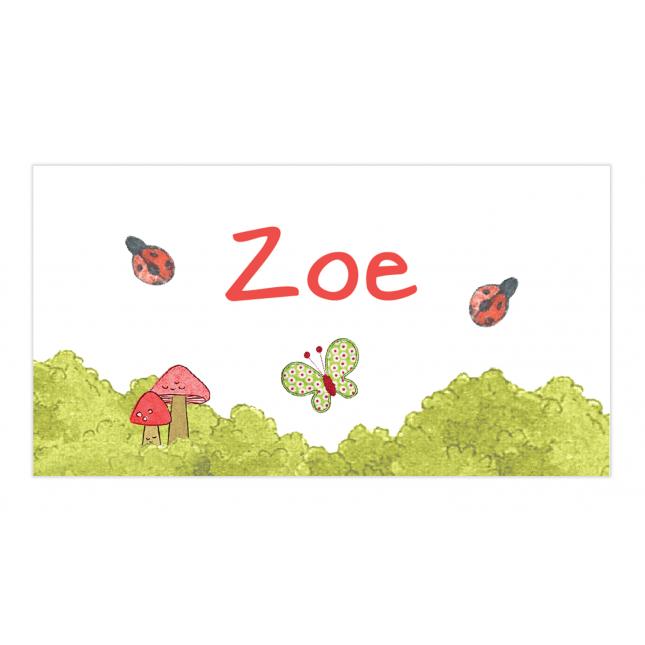 Lady Bug Envelope Sticker
