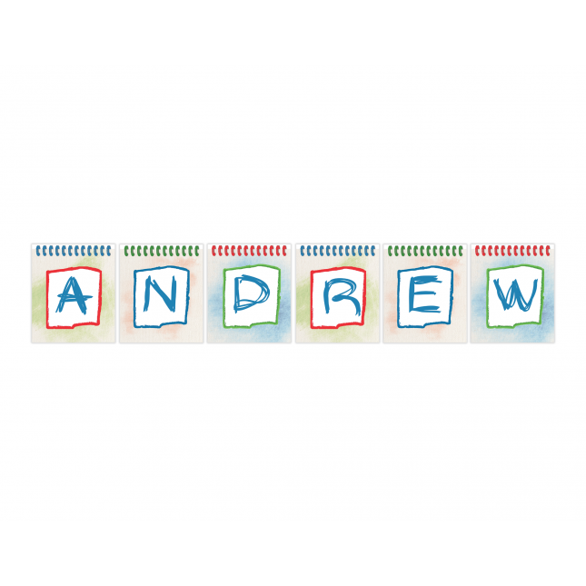 Art Studio for Boys Personalized Banner
