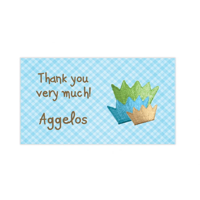 Little Prince Mini Thank You Cards
