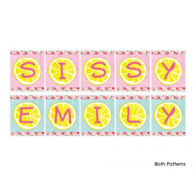 Pink Lemonade Personalized Banner