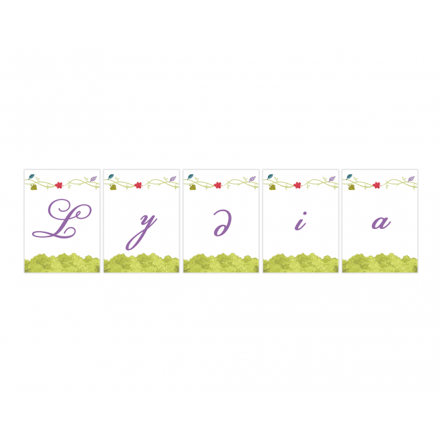 Purple Fairy Personalized Banner