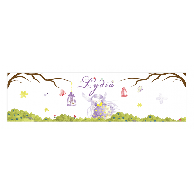 Purple Fairy Napkin Rings
