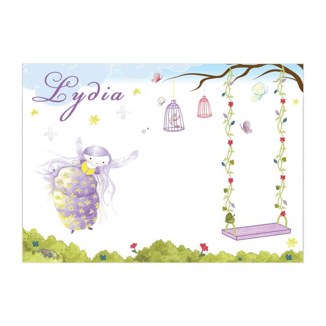 Purple Fairy Placemat