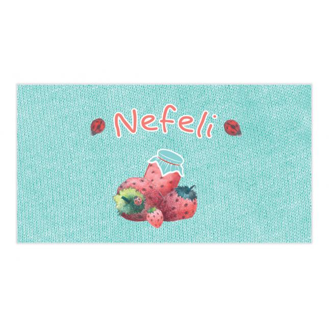 Strawberry Envelope Sticker