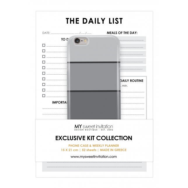 For Him - Daily & Fit List Personalized Kit