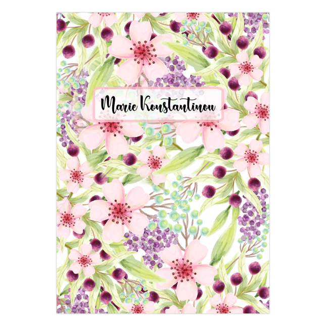 Fragrant Personalized Notebook